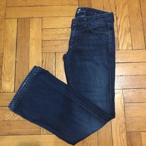 7 For All Mankind Lexi Jeans bootcut sz 24 petite